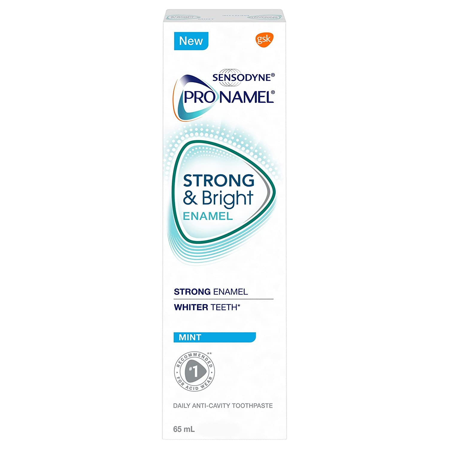 PRONAMEL Strong & Bright Mint GSK Consumer Healthcare