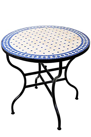 Original Oriental marocain méditerranéen teinté Table Table ...