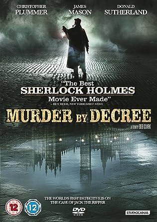 Murder By Decree Sherlock Holmes DVD