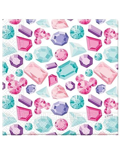 COOLMP - Lote de 6 servilletas de Papel Premium Minnie 33 x ...