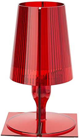 Kartell BOURGIE - TAKE TAKE Tischleuchte, Rot: Amazon.de: Beleuchtung