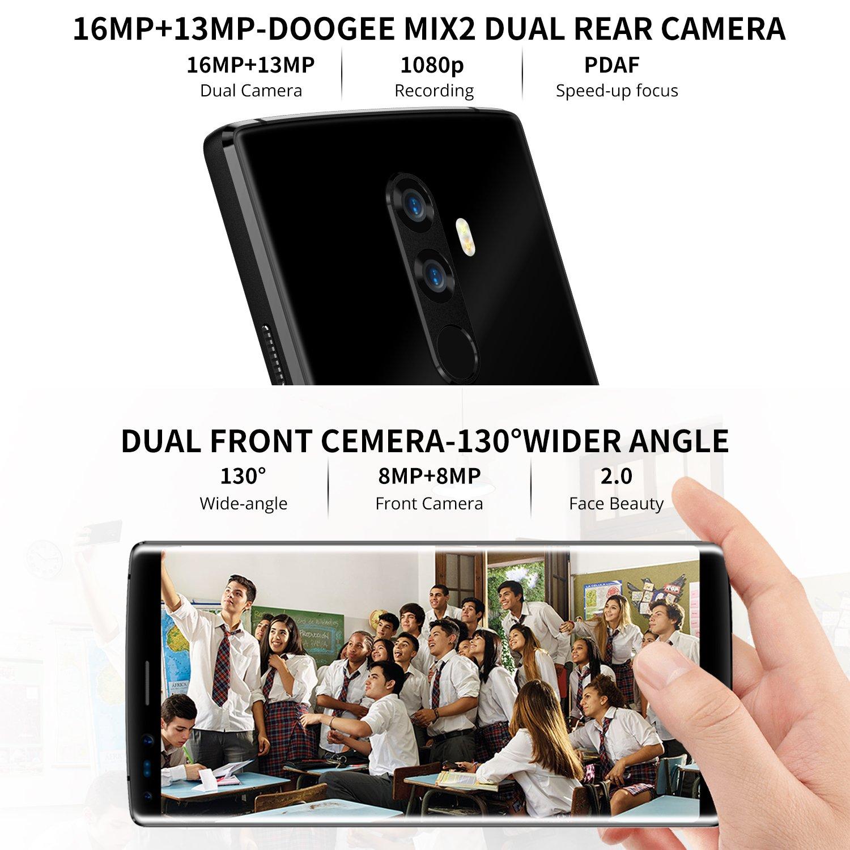 DOOGEE MIX2, DOOGEE Smarphones Libres 4G, 5,99
