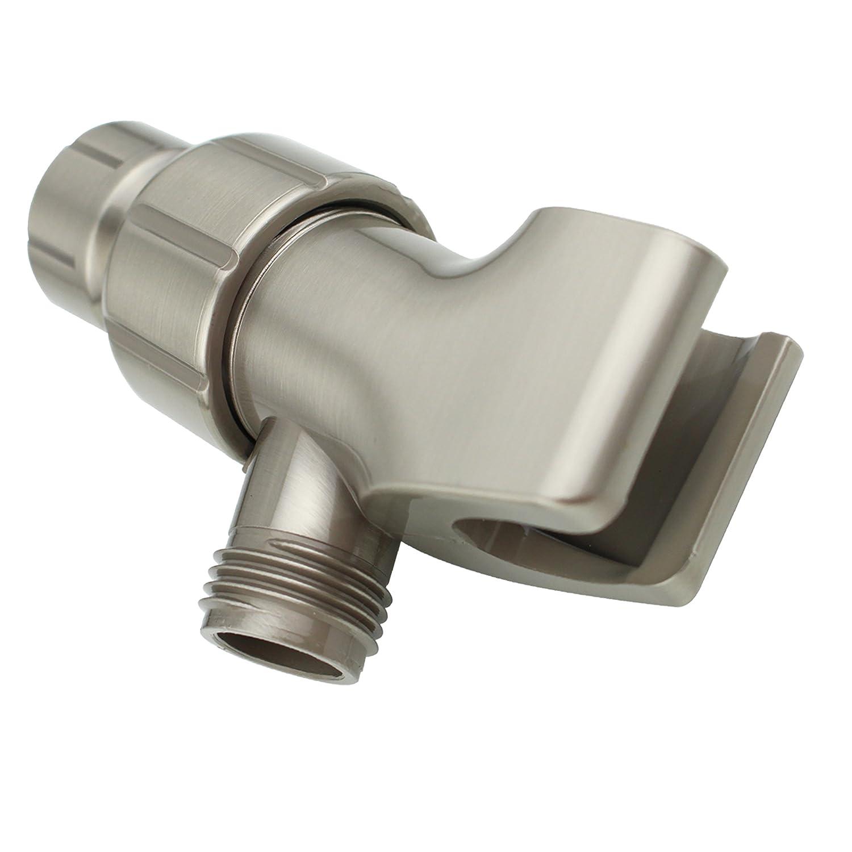 YOO.MEE Shower Arm Bracket for Handheld Shower Head Oil Rubbed Bronze Adjustable Holder Mount