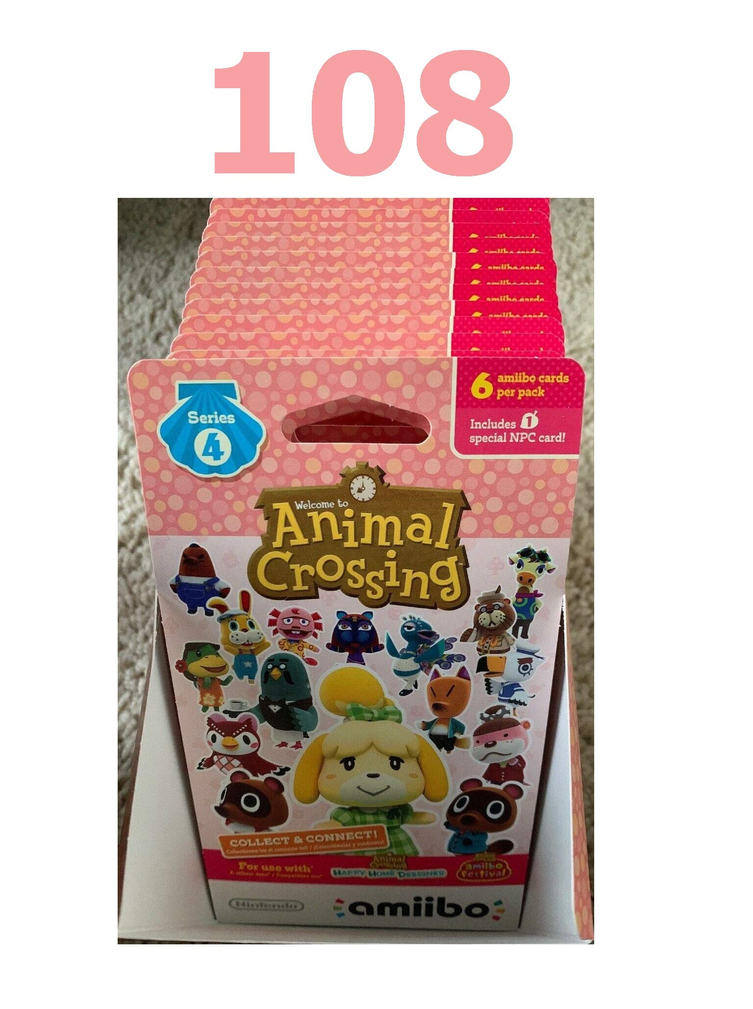 High Rated Animal Cards Series 4 Unopened Box 18x6 Cards = 108 Total Quick Arrive