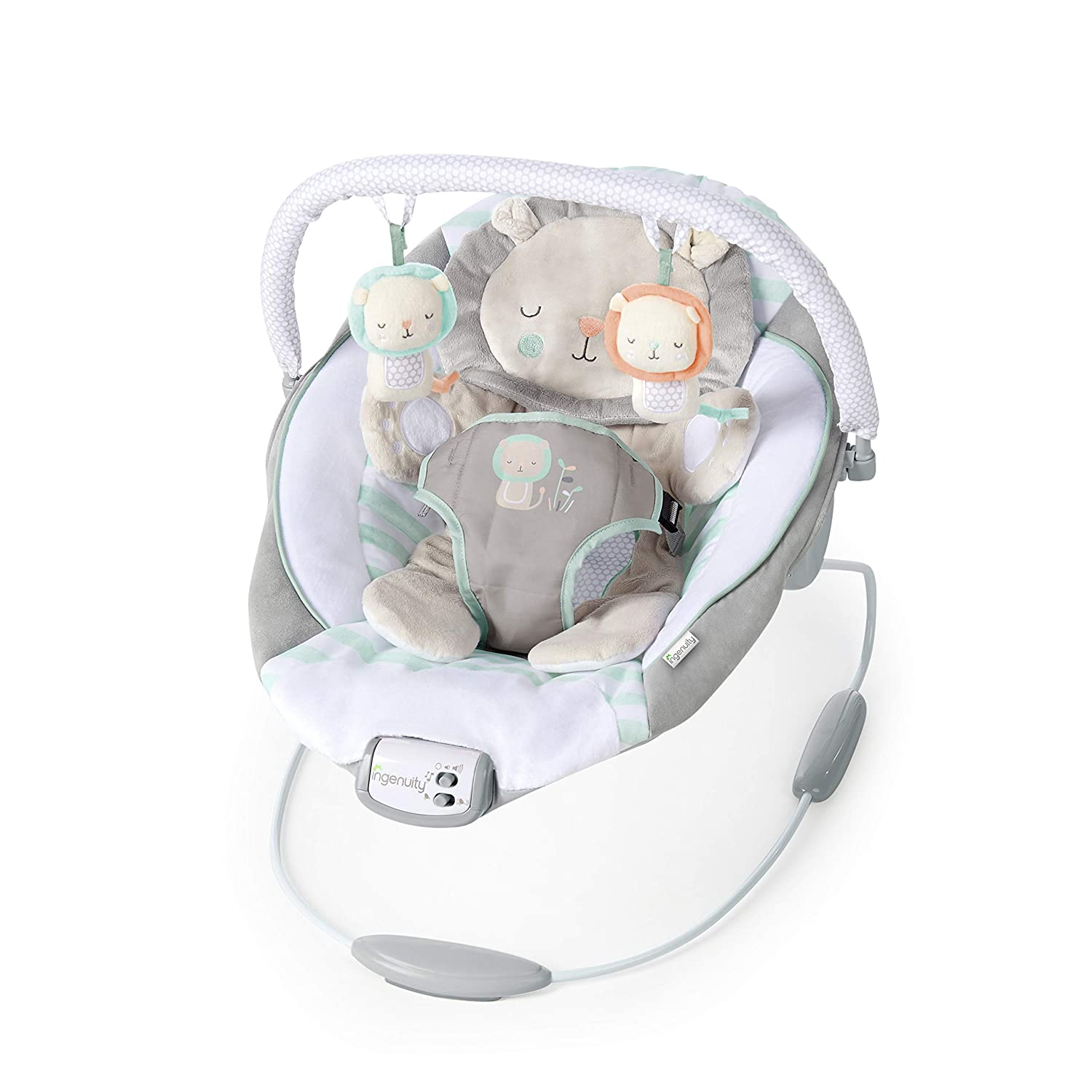 Ingenuity Cradling Baby Bouncer Cozy Kingdom Vibrations Seat Chair