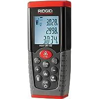 RIDGID 36158 Télémètre laser micro LM-100, télémètre laser numérique pour des relevés de température de surface précis et rapides
