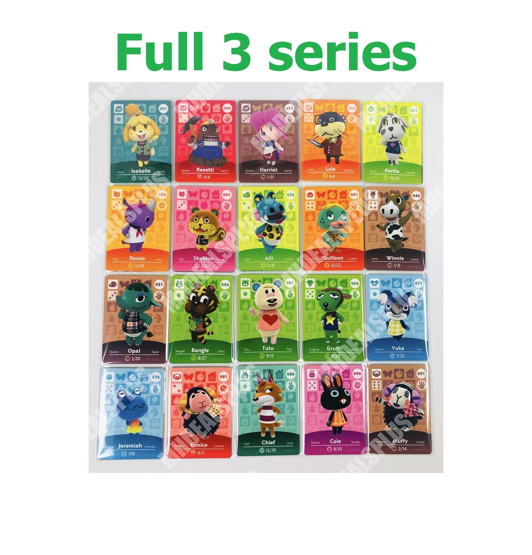 Love Gift New Crossing 201-300 Cards Full Complete Set Series 3 US Version Quick Arrive