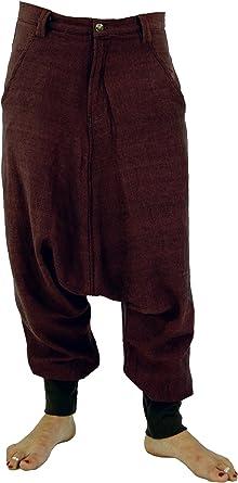 GURU-SHOP, Unisex Pantalón de Ganso Pluderhose Pumphose Pantalón de Aladino, Rojo, Algodón, Tamaño:S (38), Pantalones de Hombre: Amazon.es: Ropa y accesorios