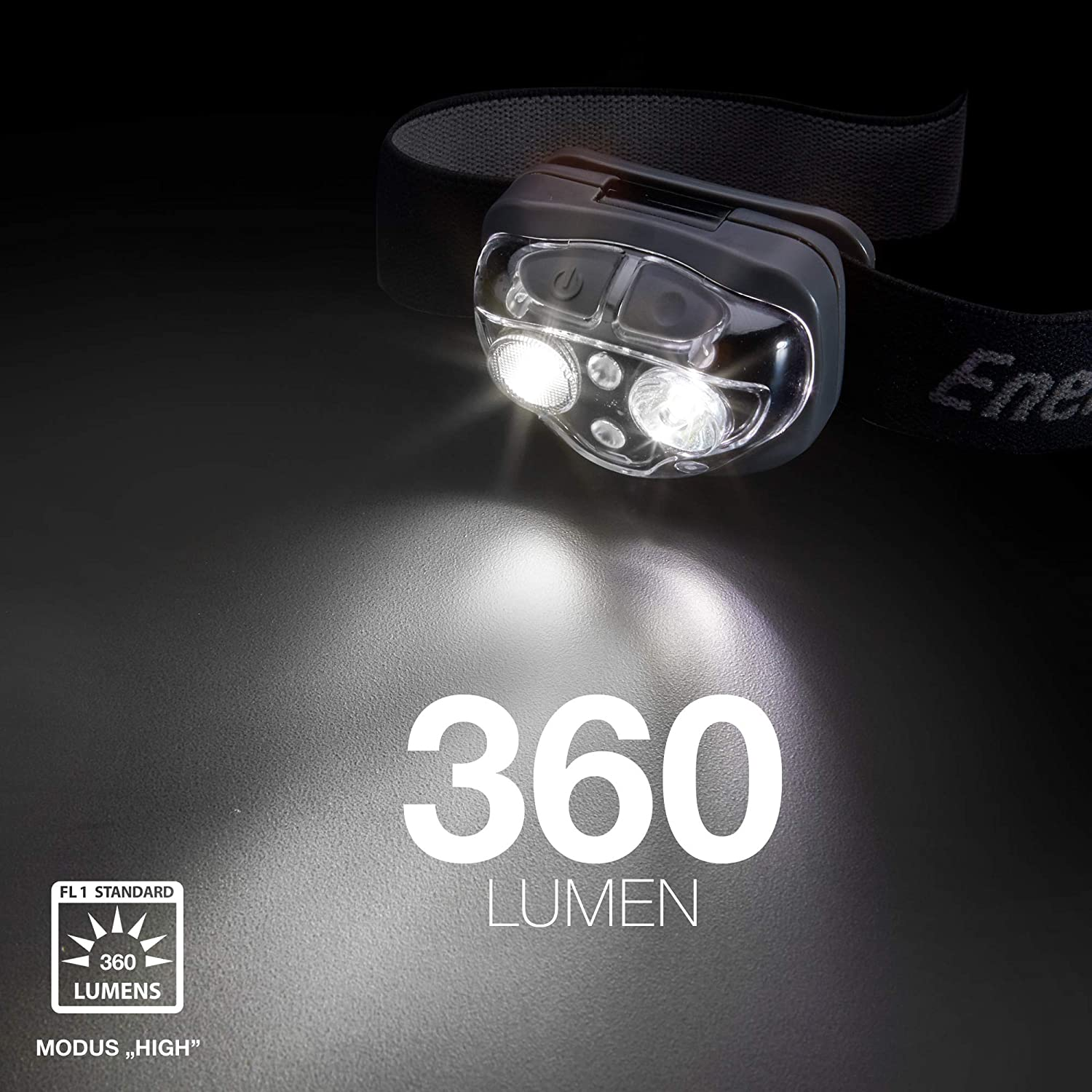 Batteries Included Headlight Energizer  Vision Ultra 360 Head Torch