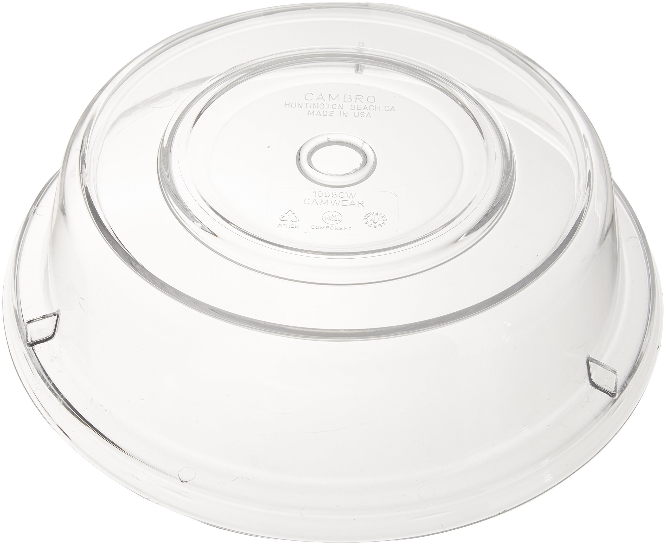 Cambro 1005CW152 Clear 10-9/16''m Camwear Camcover