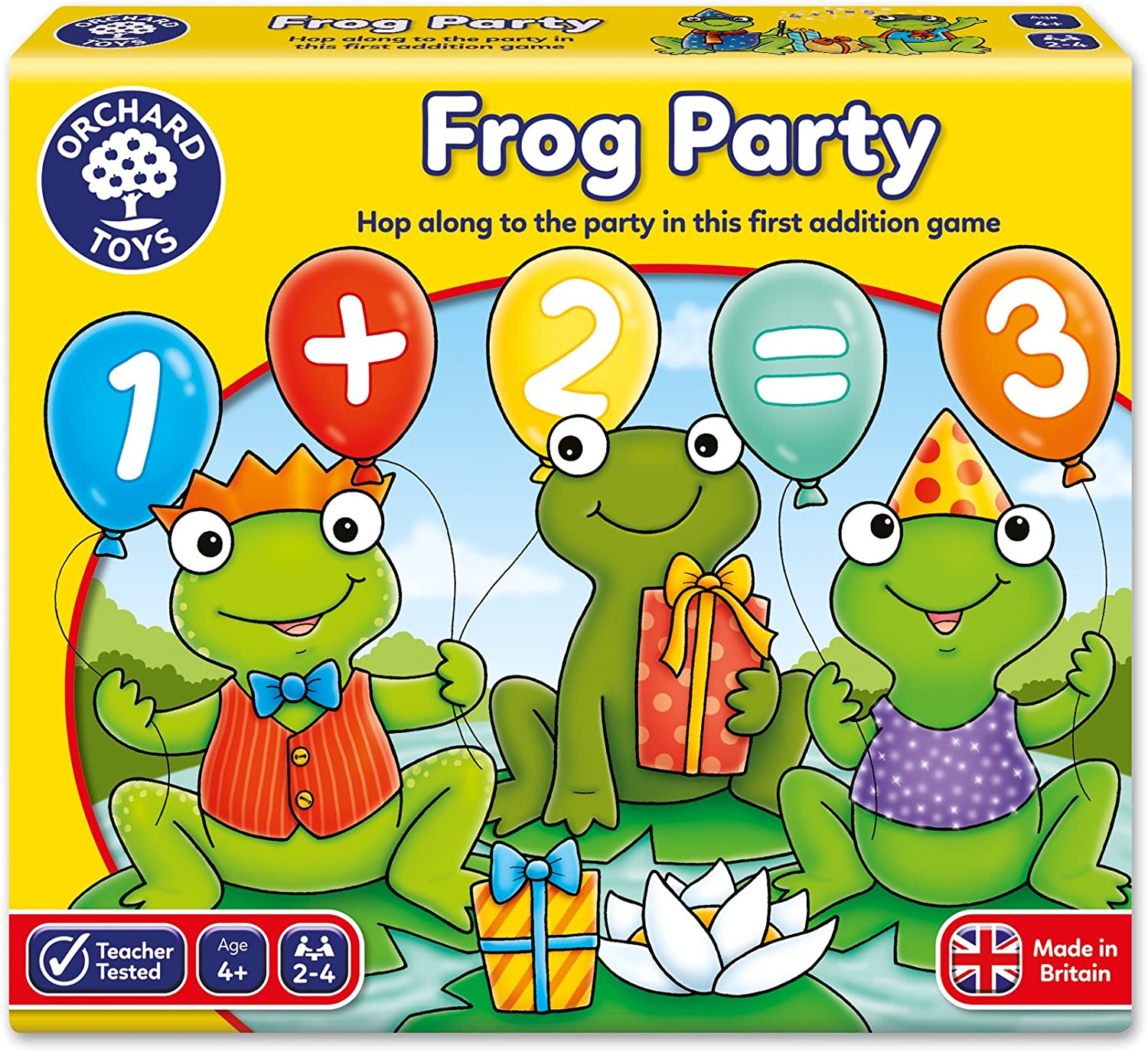 3+ Years Educational Counting Game Orchard Toys One Dog Ten Frogs Game
