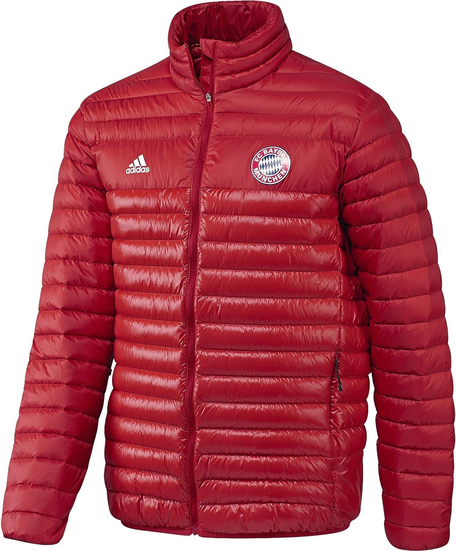 Adidas FCB Jkt – Jacke der Line Bayern FC für Herren, Farbe rotweiß, Größe