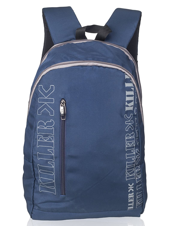 Killer LESNER Laptop Backpack for 15.6 inch Laptop - Regular office Laptop Backpacks For Men - Navy Blue