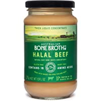 Halal Beef Bone Broth Concentrate - Natural Beef Instant Bone Broth Beverage. New Zealand Grass-Fed Beef. Made in…