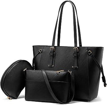 Realer Damen Handtaschen Shopper Groß Umhängetasche