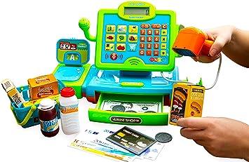 Think Gizmos Caja Registradora de Juguete – Juguete Interactivo ...