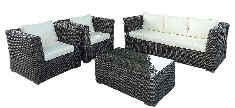 Baidani Gartenmöbel Garnitur Funky Grau Günstig Online Kaufen