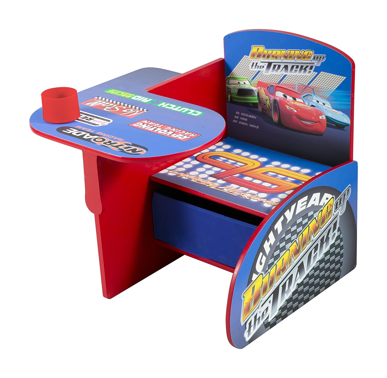 Amazon.com Delta Children Chair Desk With Storage Bin Disney/Pixar Cars Baby  sc 1 st  Amazon.com & Amazon.com: Delta Children Chair Desk With Storage Bin Disney/Pixar ...