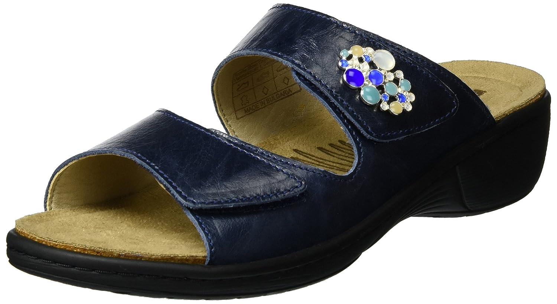 Romika Mainau 06, Zuecos para Mujer 36 EU|Azul (Denim 534)