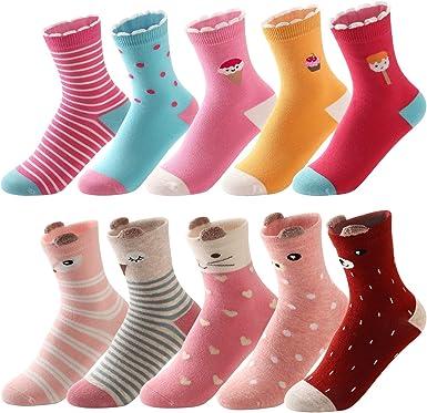 3 Pairs Childrens//Kids Cotton Rich Animal Socks