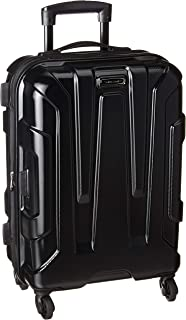 424bf16b4 Samsonite Centric Expandable Hardside Carry On Luggage with Spinner Wheels,  20 Inch, Black