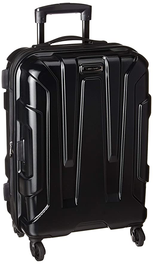 ef127e877 Samsonite Centric Expandable Hardside Carry On Luggage with Spinner Wheels,  20 Inch, Black: Amazon.ca: Luggage & Bags