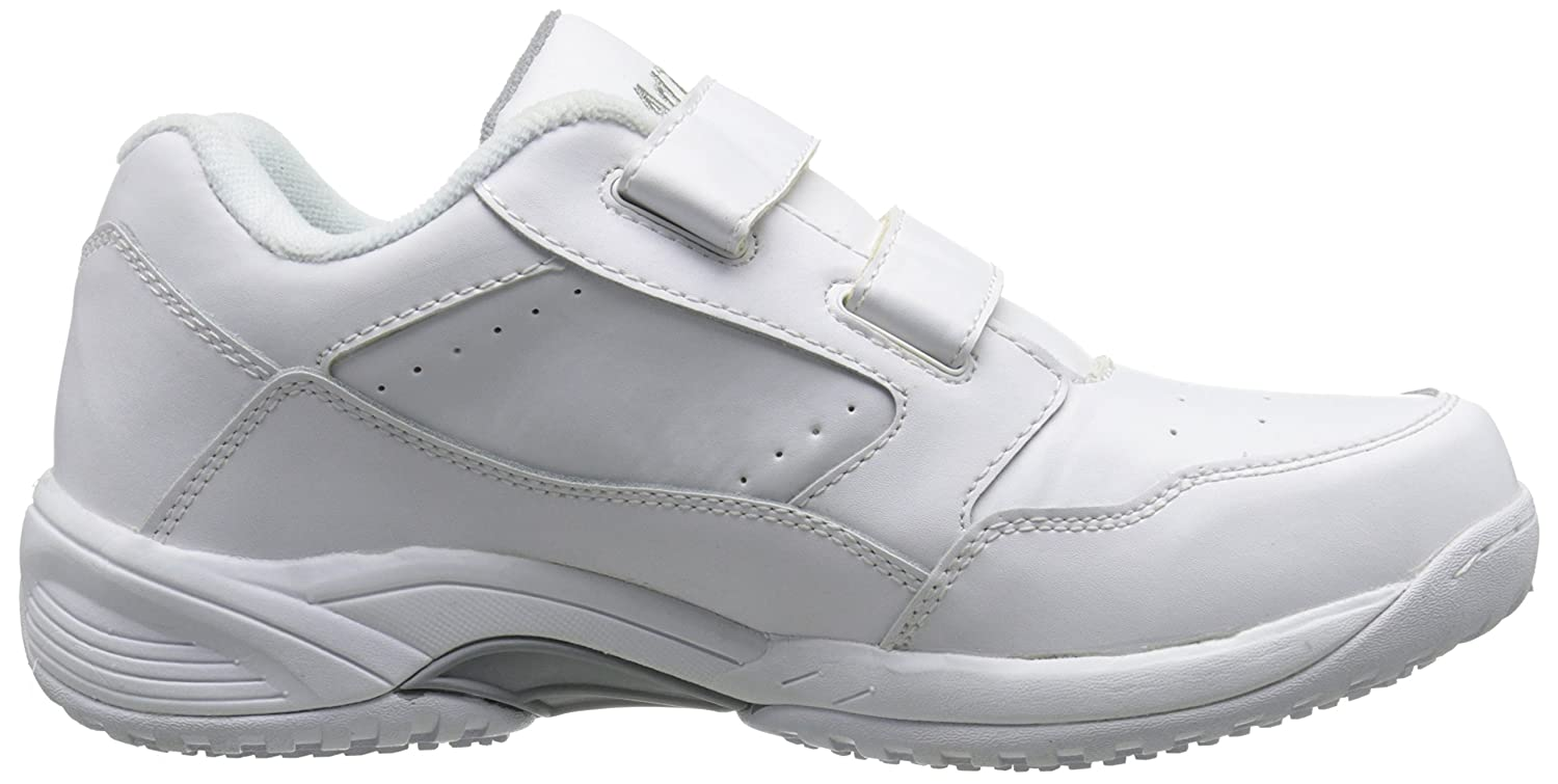 Slip Resistant Comfortable ADTEC Mens White Lace Work Shoe Breathable Affordable