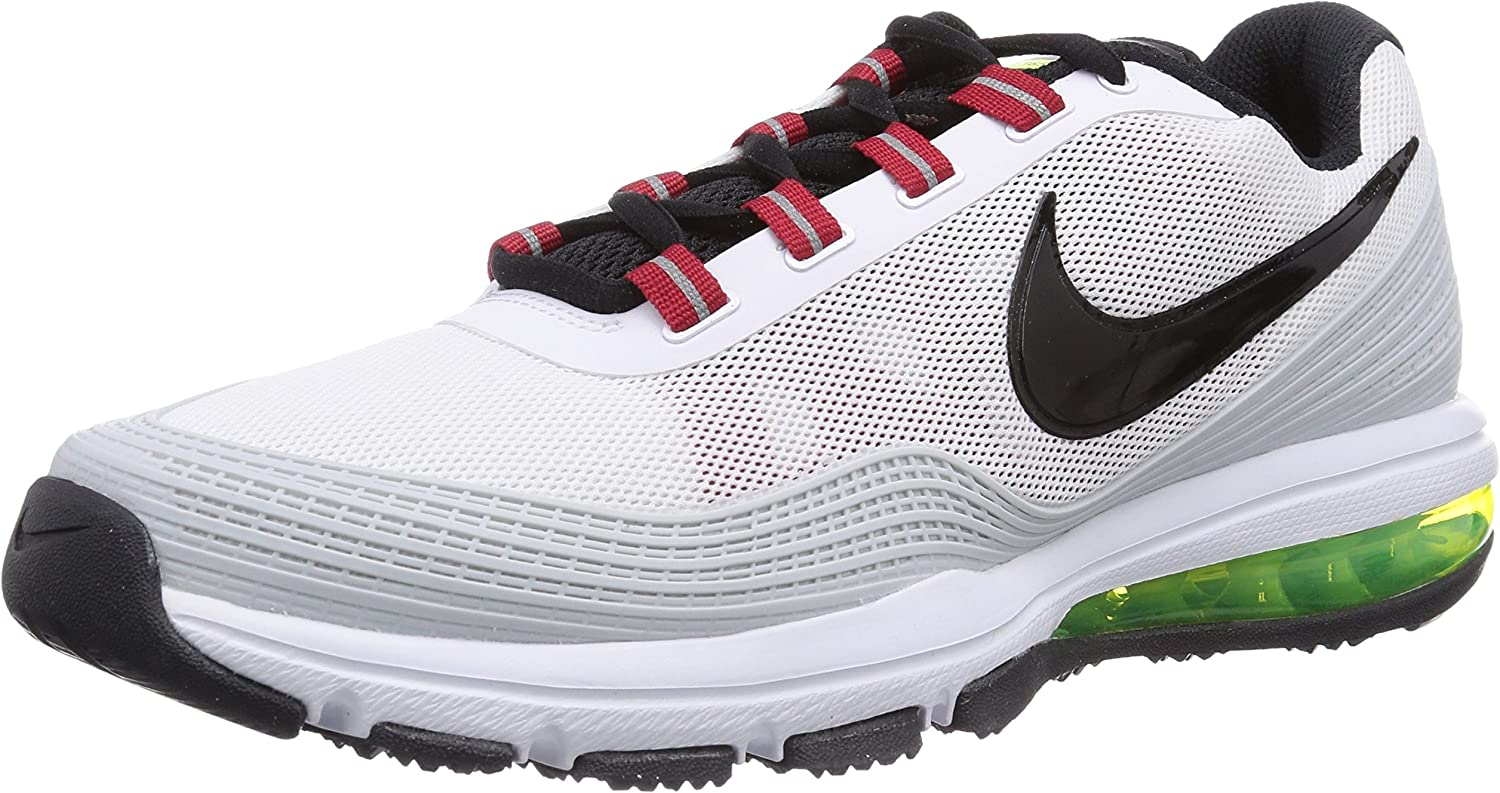 Nike Air MAX TR 365, Zapatillas de Running para Hombre, Blanco (White/Black-Gym Red-Volt 106), 47 EU: Amazon.es: Zapatos y complementos