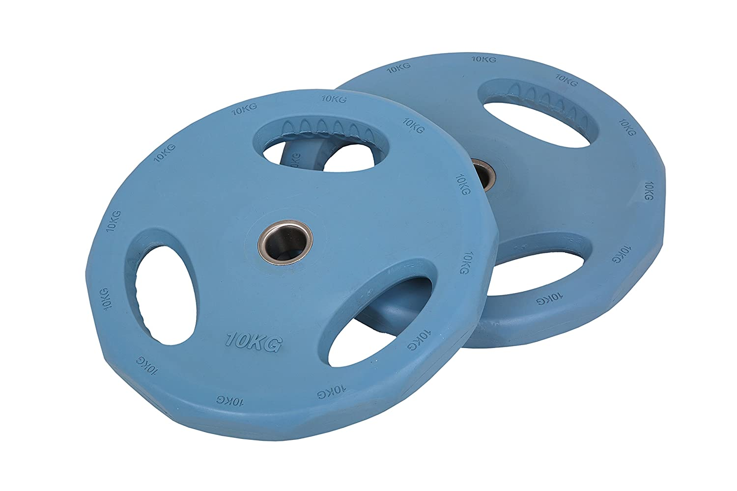 10kg Blue Rubber 30mm Discs (x 2) FunctionalFitness