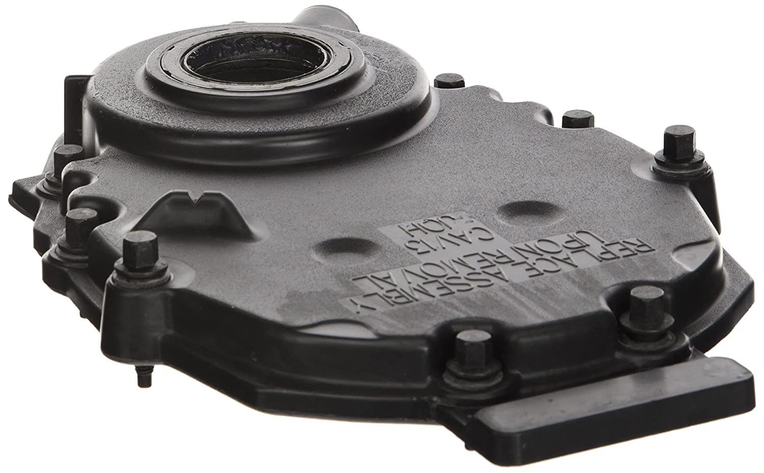 GM Parts 12562818 Black Front Plastic Timing Cover for Small Block Chevy GM Performance
