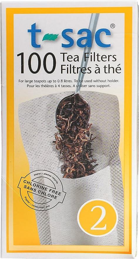 Amazon.com: Infusor de té Filtro de té Bolsas, desechables ...
