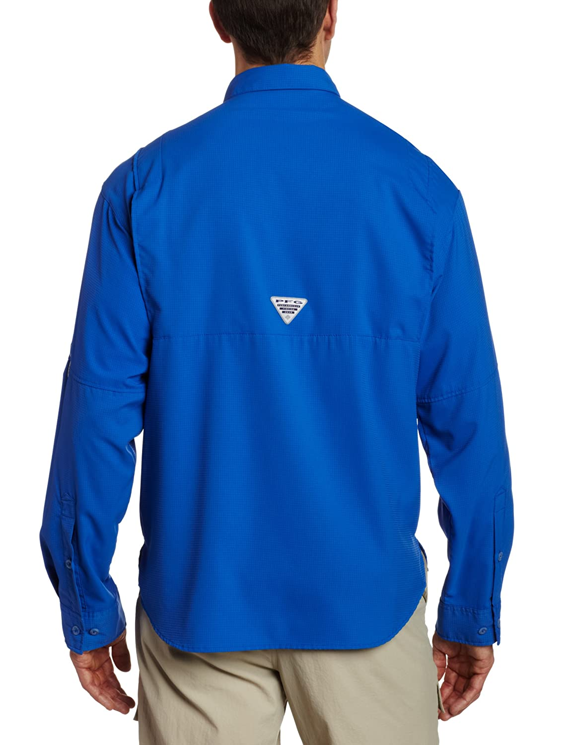 bf4a37a01c3 Columbia Men's Plus Tamiami II Long Sleeve Shirt, Vivid Blue - X-Small:  Amazon.in: Sports, Fitness & Outdoors