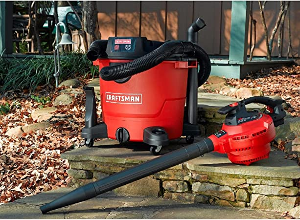 Craftsman XSP 16 Gallon 6.5 Peak HP Wet Dry Blower