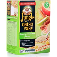 Jungle Oatso Easy Apple and Cinnamon Flavor Cereal - 500 gm