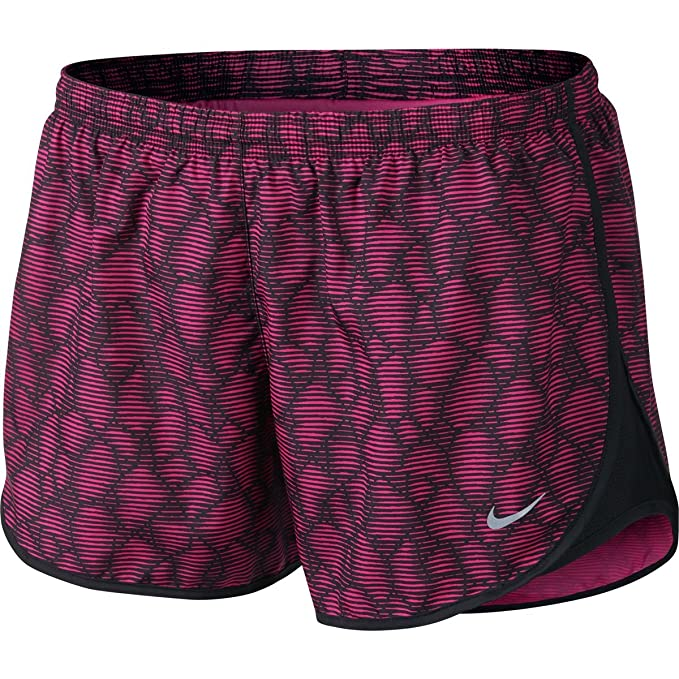 2c581b9edc Amazon.com: Nike Womens Modern Tempo Printed Running Shorts (X-Large ...