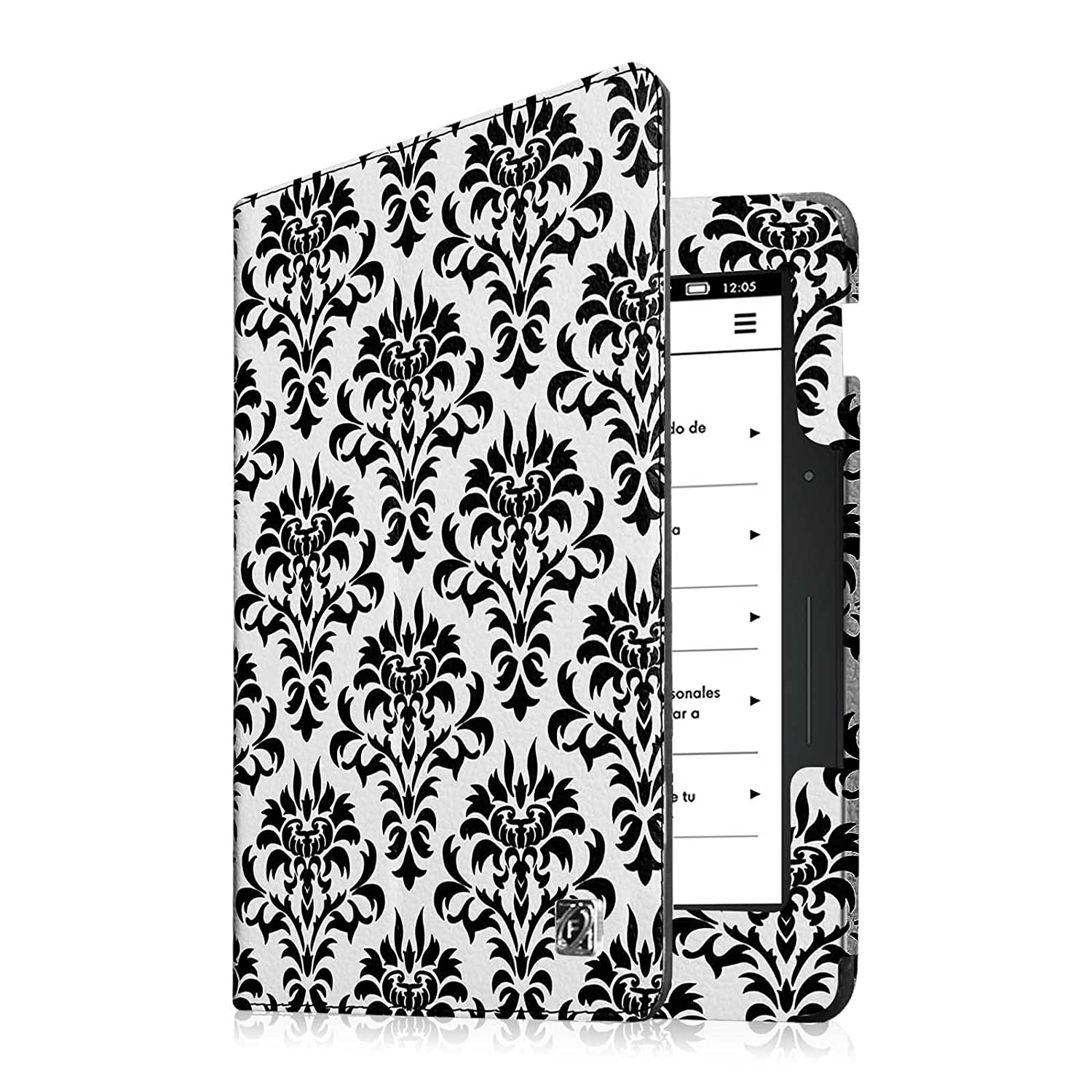 Amazon.com: Fintie Folio Case for Kindle Voyage - Premium PU Leather Book Style Case Cover with Auto Sleep/Wake (will only fit Amazon Kindle Voyage 2014), ...