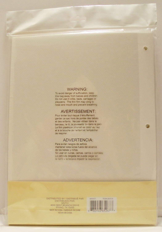 Amazon.com: White Photo Album Refills by Recollections (8 x 10.5 ...