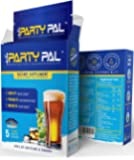 PartyPal™ - Natural Hangover Relief & Hangover Prevention | 5-PACK Hangover Pills Detox Kit | Enhance your body's ability to metabolize toxins | Replenish & Revitalize | 100% Money Back Guarantee!