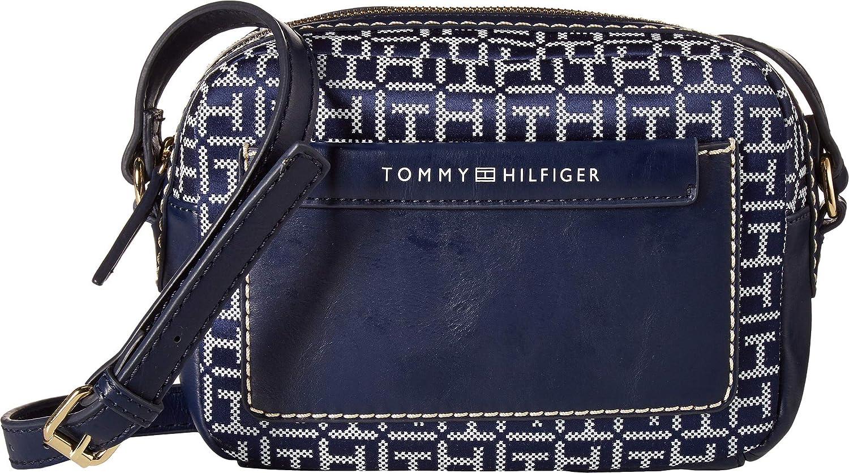 Amazon.com: Tommy Hilfiger Jackie - Bolso bandolera para ...
