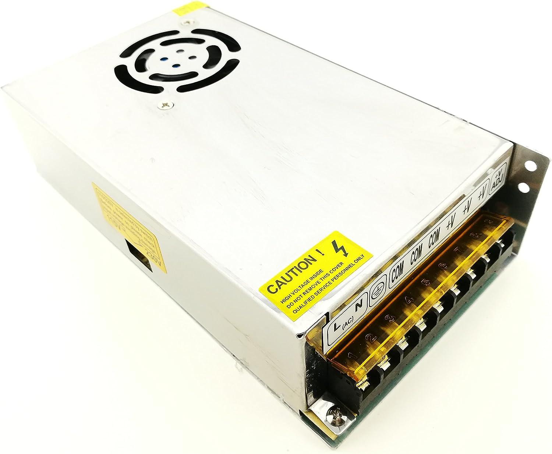 Fuente Alimentador AC220V DC12V Universal Regulada Conmutación Adaptador de Alimentación de Transformador Para Tira LED y Camara de Vigilancias (20A 240W)
