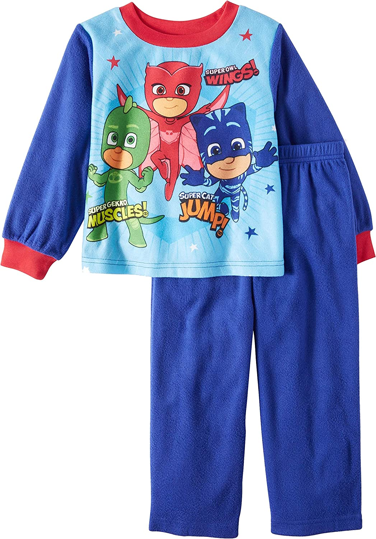 PJ Masks Toddler Boys 2 Piece Sleepwear Pajama Set