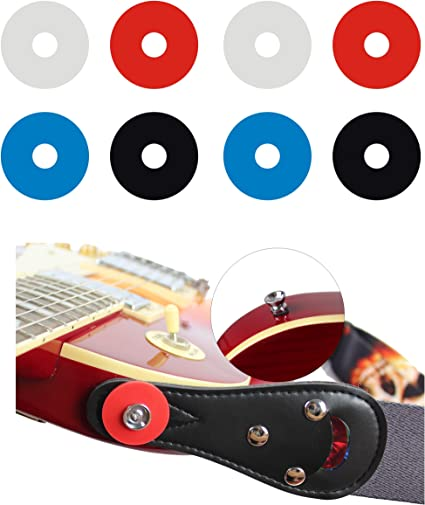 Fender Black Rubber Protector Premium Strap Locks 3 Pair