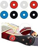 YMC Premium Strap Locks (4 Pair) - 2 Red, 2 Blue, 2 Black, 2 Clear