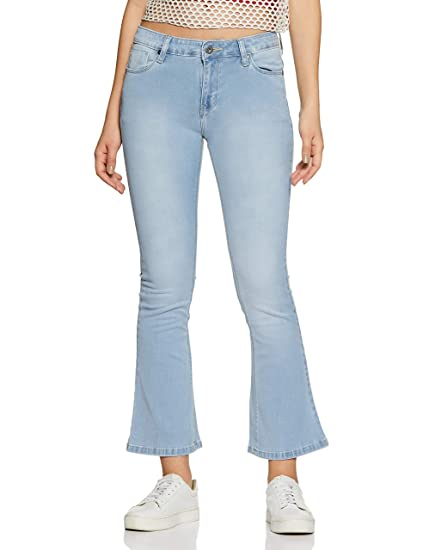 Buy Pepe Jeans Women S Boot Cut Jeans At Amazon In