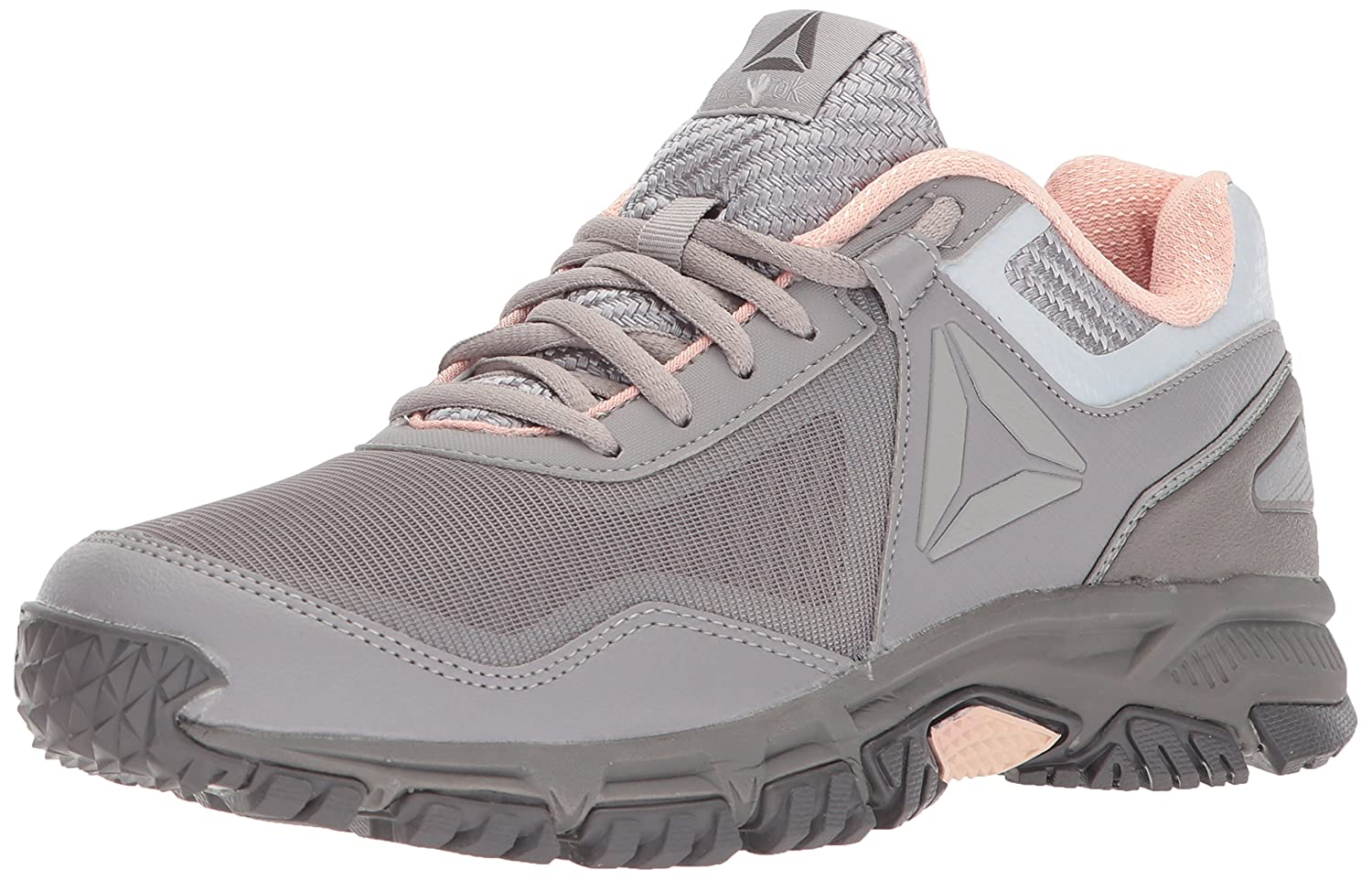 Reebok Women's Ridgerider Trail 3.0 Sneaker B0714M67H4 6.5 B(M) US|Powder Grey/Smoky Taupe/Urban Grey/Desert Dust