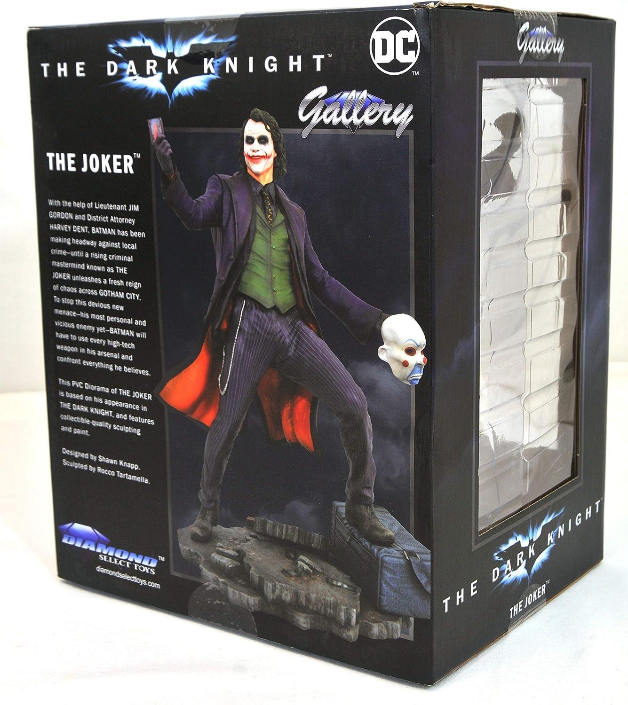 Nouveau DC Comics Joker Batman Dark Knight Collection Action PVC Figure in box