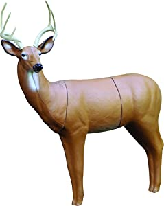 Real Wild 3D Big Buck Archery Target with Replaceable Midsection Core