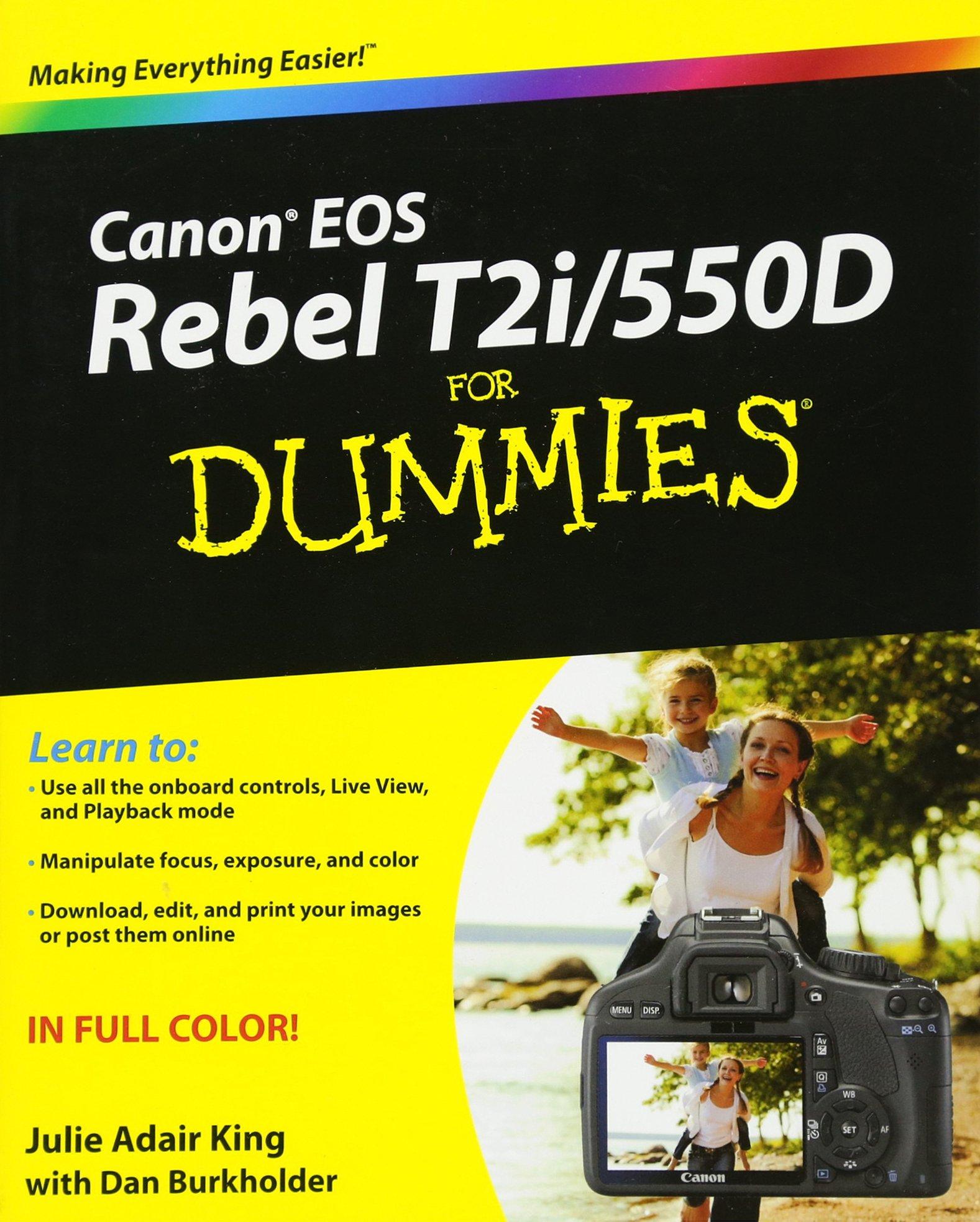Canon EOS Rebel 550D Dummies