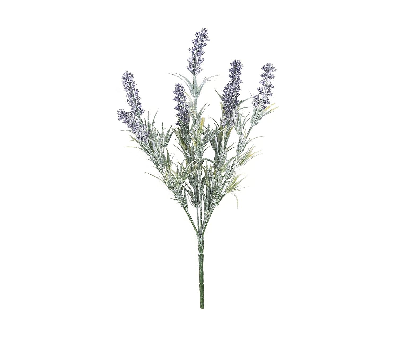 Closer2Nature Artificial 32cm Flocked Purple Lavender Plug Plant - Pot Not Included HBC013LE