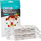 Dr. Talbot's Disposable Kid's Face Mask for Health Protection by Dr. Talbot's, 10 Pack, Girl